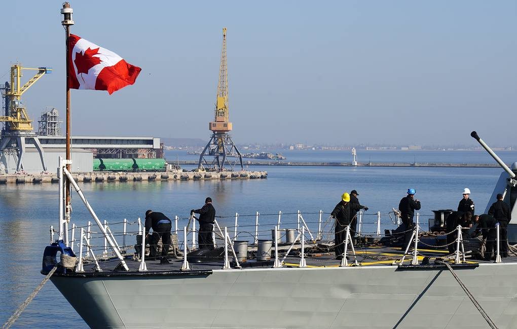 The Canadian Forces' HMCS Toronto (FFH 333) Halifax-class frigate at the port of Odessa Arkhip Vereshchagin/TASS