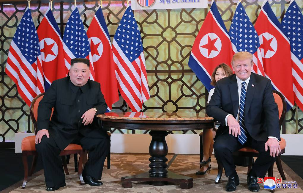North Korean leader Kim Jong Un and US President Donald Trump EPA-EFE/KCNA