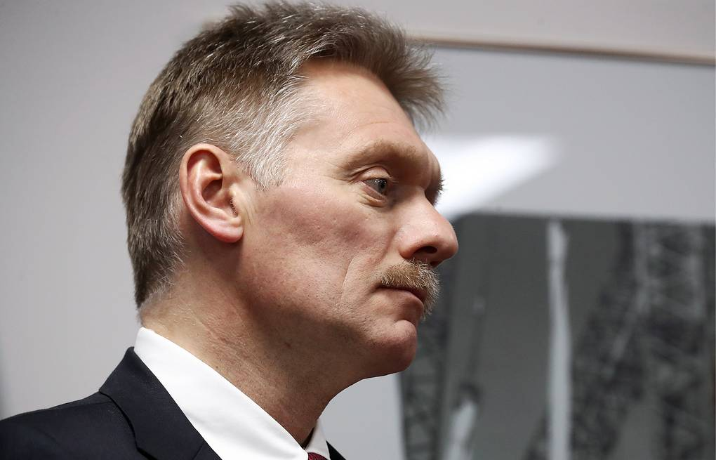Russian presidential press secretary Dmitry Peskov Valeriy Sharifulin/TASS