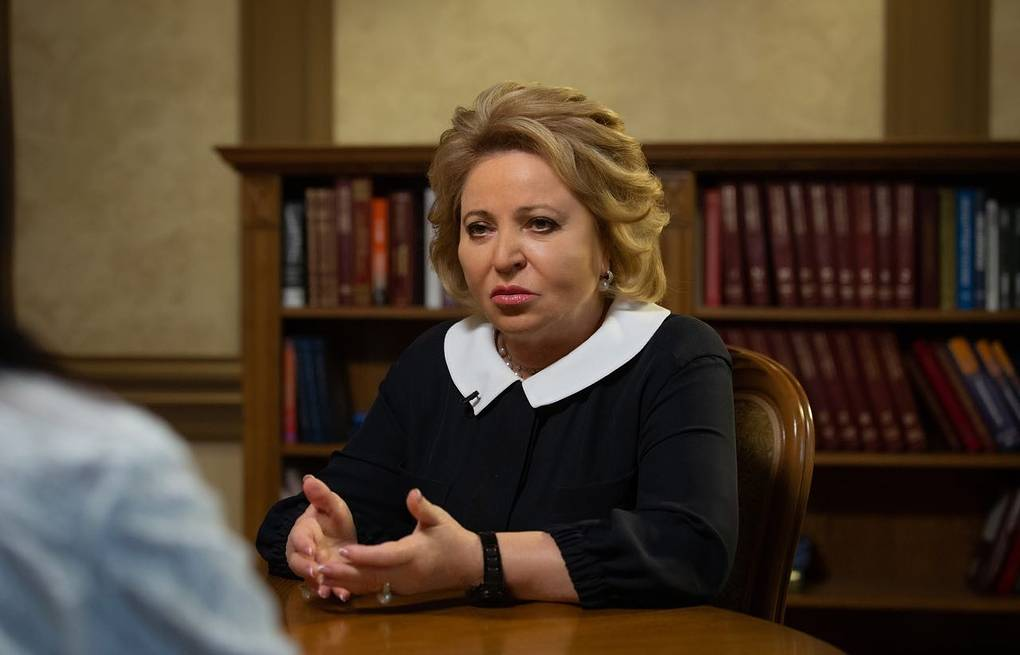 Russian Federation Council Speaker Valentina Matviyenko Russian Federation Council press service