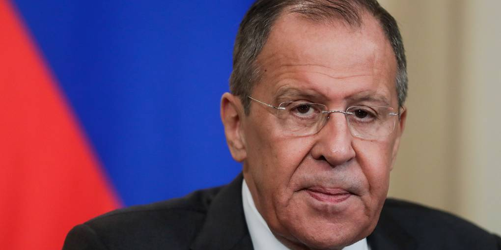 Russian Foreign Minister Sergey Lavrov Mikhail Metzel/TASS