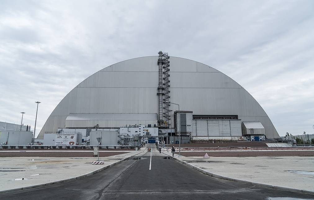 New sarcophagus now contains Chernobyl Power Plant's 4