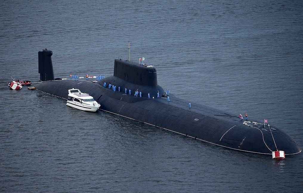 Dmitry Donskoi nuclear powered submarine Pyotr Kovalyov/TASS