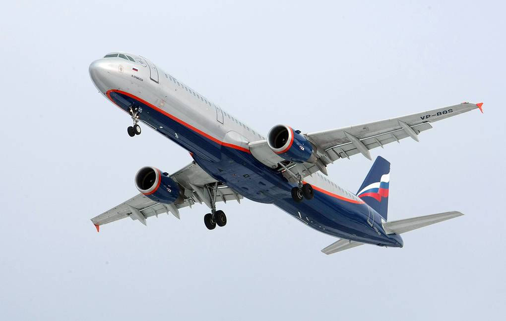 Airbus A321 plane operated by Aeroflot airline carrier Marina Lystseva/TASS