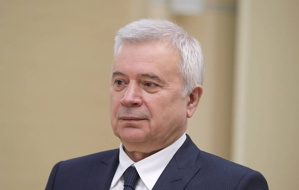 Lukoil CEO Vagit Alekperov Mikhail Klimentyev/Russian Presidential Press and Information Office/TASS