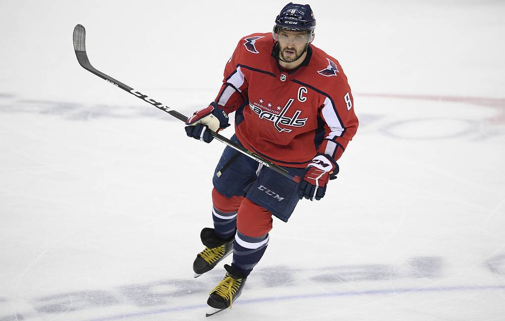 Alexander Ovechkin  AP Photo/Nick Wass