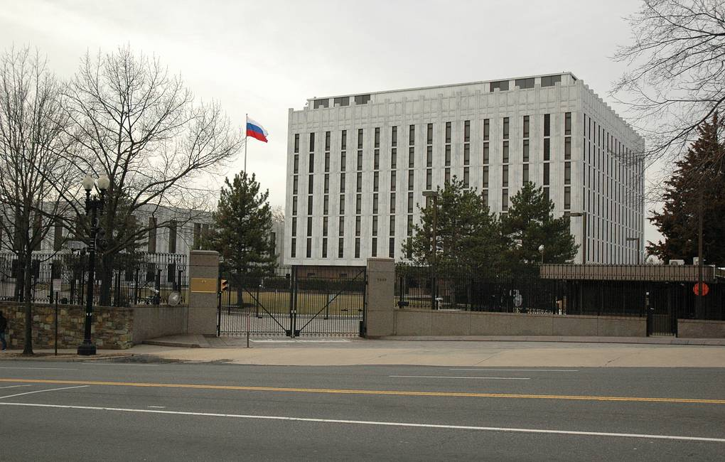 The Russian Embassy in Washington, D.C. Anatoly Bochinin/TASS