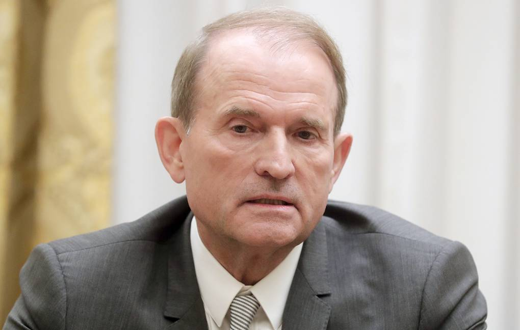 Leader of Ukraine's Opposition Platform for Life party Viktor Medvedchuk Mikhail Metzel/TASS