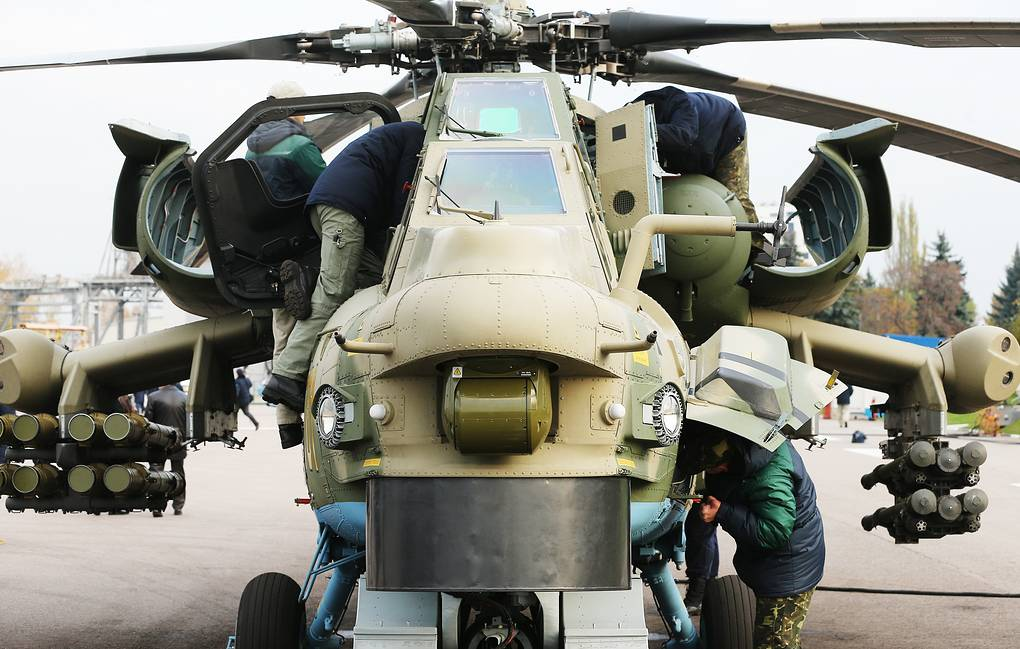 Russia's latest Mi-28NM attack helicopter gets capability to
