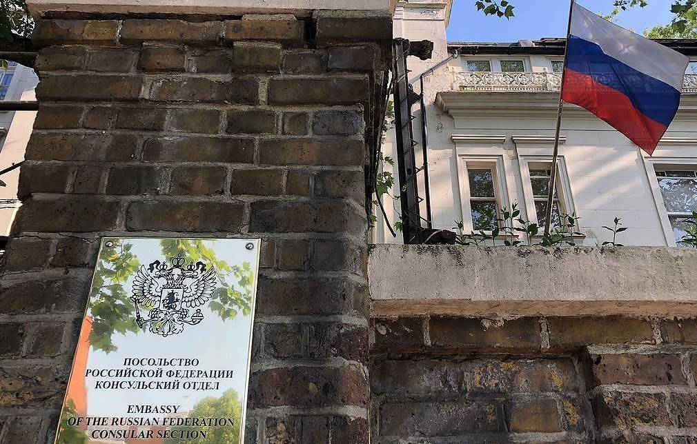 The Embassy of the Russian Federation in Great Britain Ilya Dmitryachev/TASS
