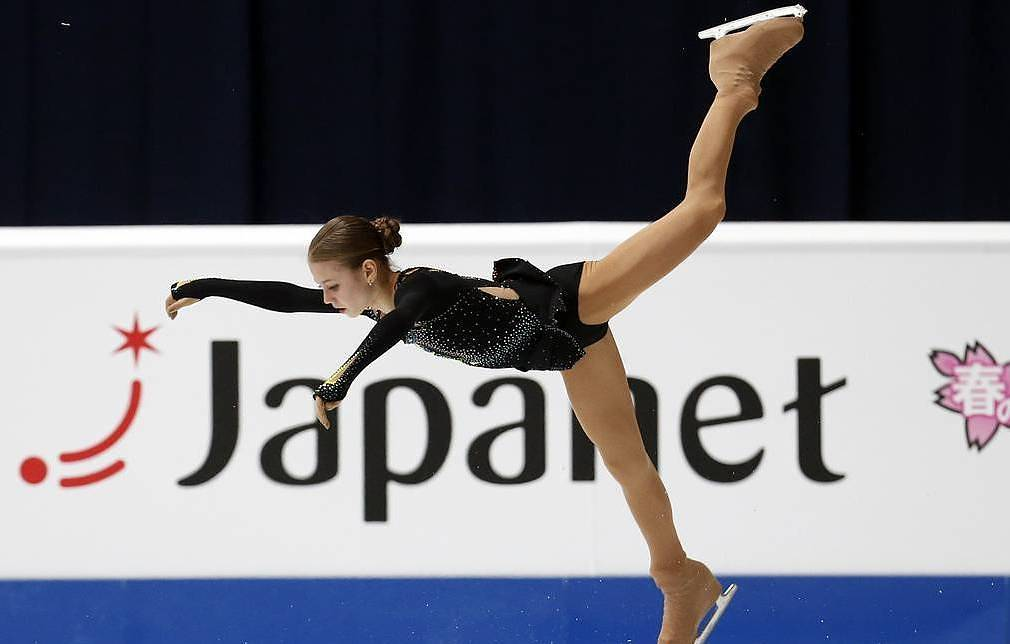 Alexandra Trusova AP Photo/Darko Bandic