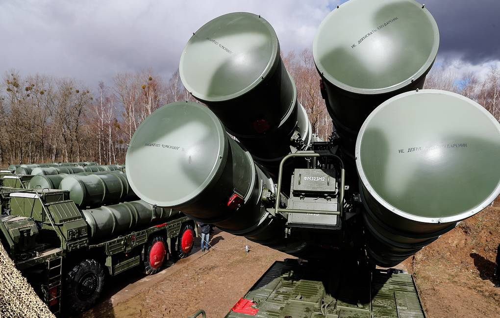 S-400 surface-to-air missile systems Vitaliy Nevar/TASS