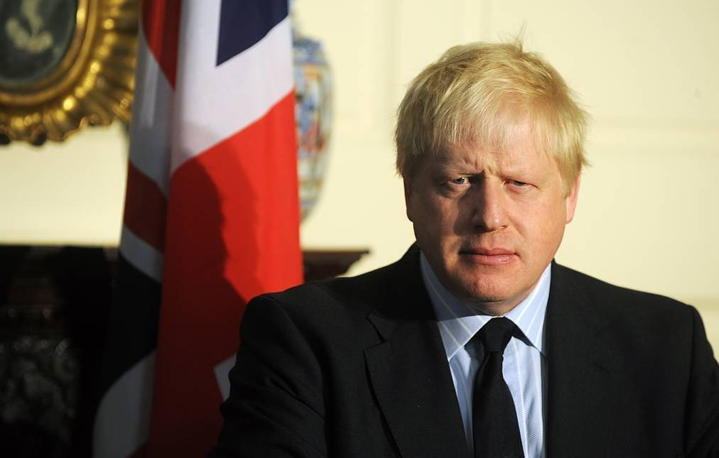 UK Prime Minister Boris Johnson EPA-EFE/AIDAN CRAWLEY