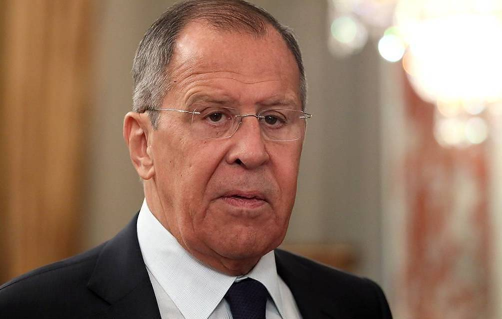 Russian Foreign Minister Sergey Lavrov Yekaterina Shtukina/POOL/TASS