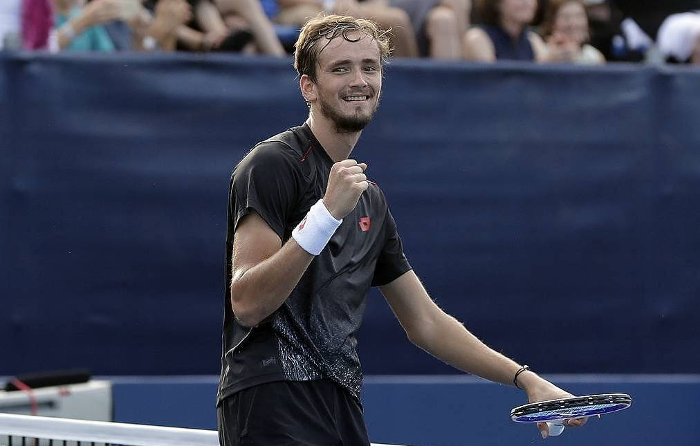 Russian tennis player Daniil Medvedev AP Photo/Chuck Burton
