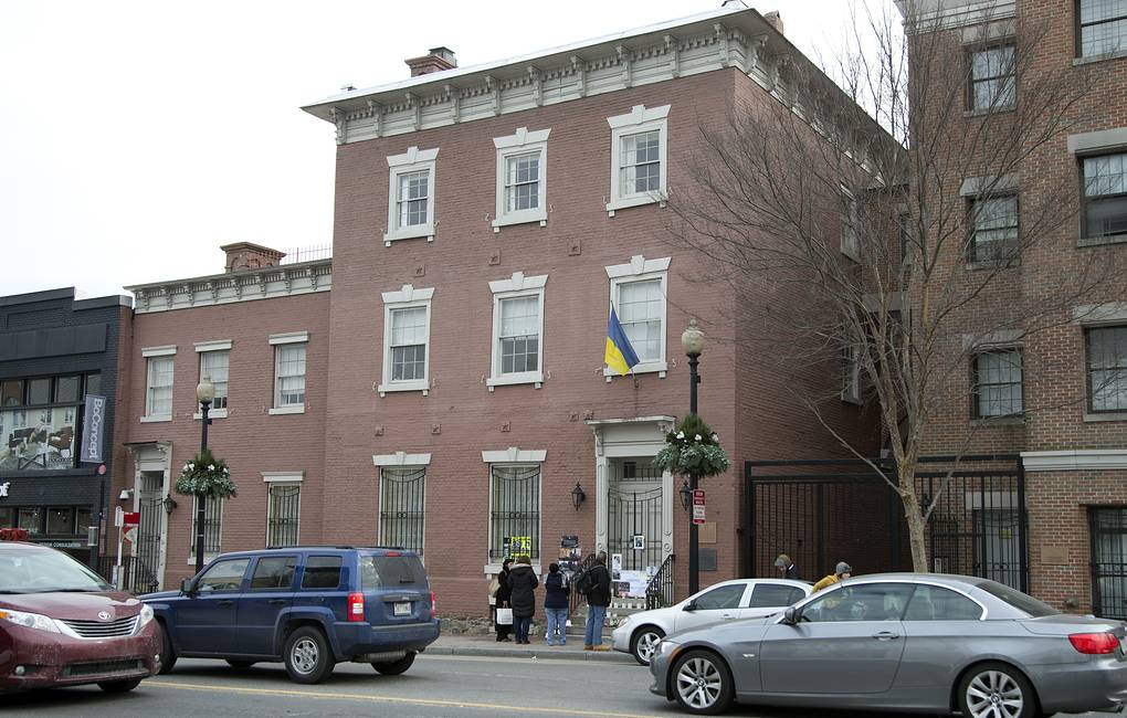 Ukrainian embassy in Washington AP Photo/Manuel Balce Ceneta