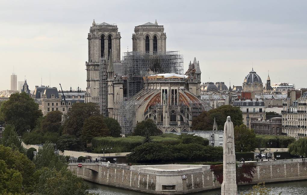 Notre Dame cathedral in Paris AP Photo/Thibault Camus
