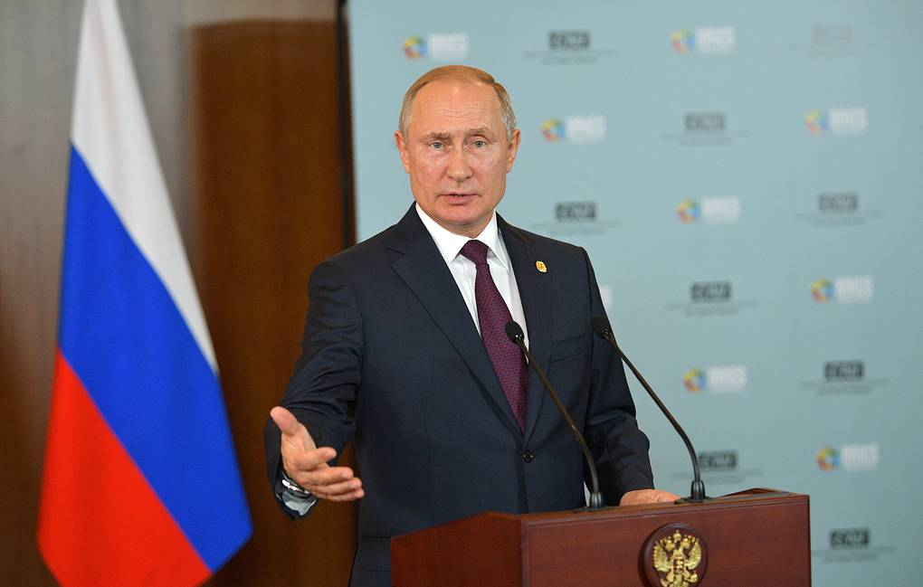 Russian President Vladimir Putin Alexei Druzhinin/Russian Presidential Press and Information Office/TASS