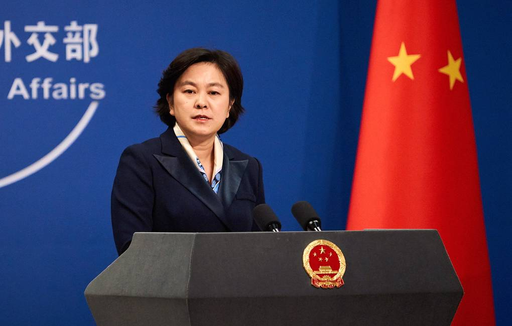 Chinese Foreign Ministry Spokesperson Hua Chunying Artyom Ivanov/TASS