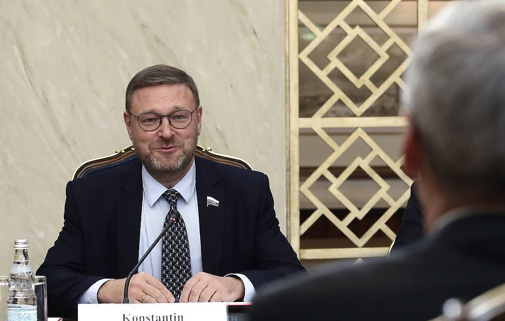 Chairman of the Foreign Affairs Committee of the Russian parliament's upper house, Konstantin Kosachev Valery Sharifulin/TASS