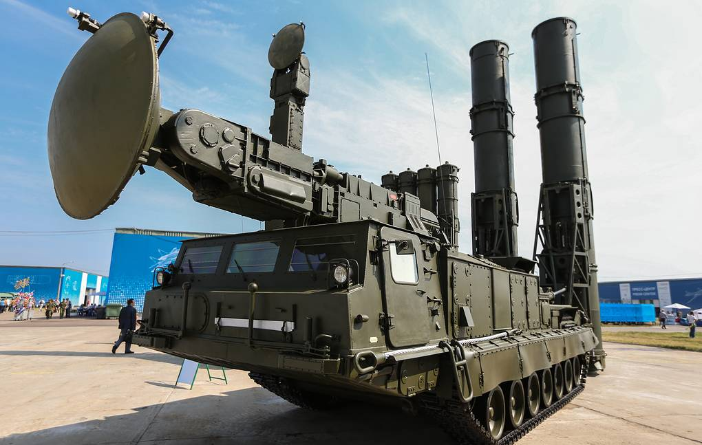 Advanced S-300V4 air defense missile system enters service in Russia's Far East - Military & Defense - TASS