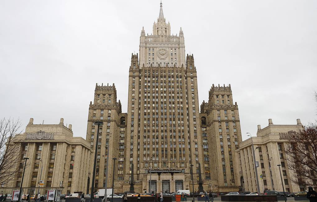 The Russian Foreign Ministry headquarters in Moscow Mikhail Japaridze/TASS