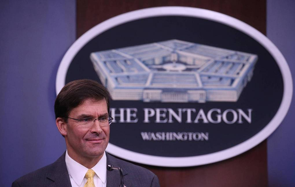 US Secretary of Defense Mark Esper  REUTERS/Leah Millis