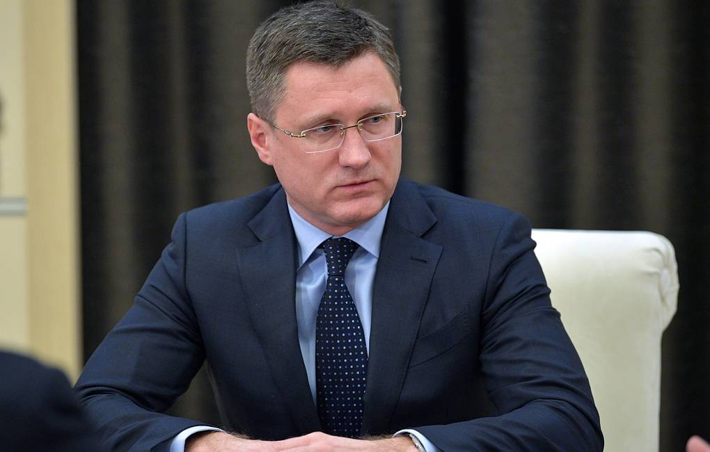 Russian Energy Minister Alexander Novak Alexei Druzhinin/Russian Presidential Press and Information Office/TASS