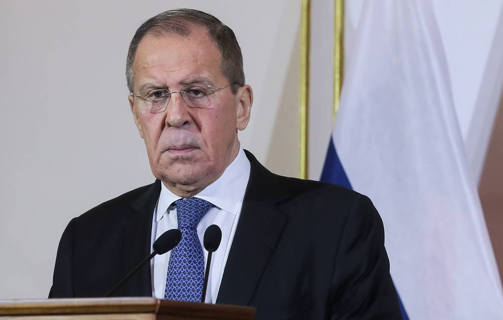Russian Foreign Minister Sergey Lavrov Vitaly Belousov/POOL/TASS