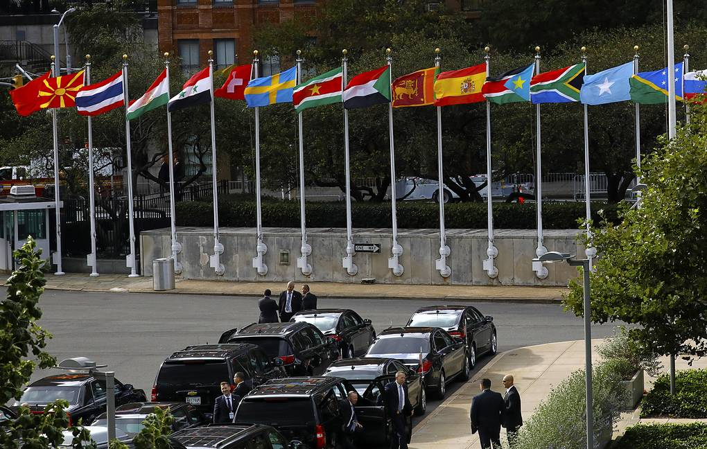 United Nations headquarters in New York EPA-EFE/PETER FOLEY