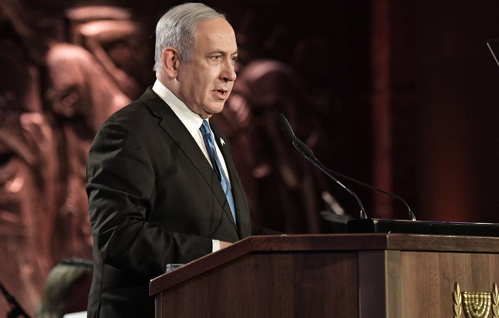 Israeli Prime Minister Benjamin Netanyahu Alexei Nikolsky/Russian Presidential Press and Information Office/TASS