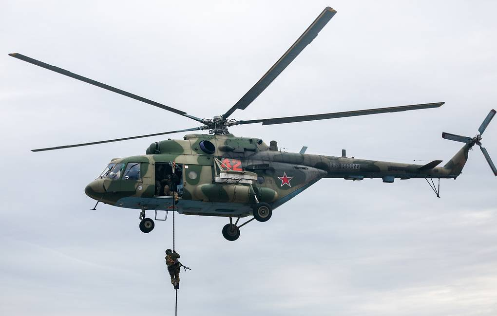 Mi-8 military transport helicopter Mikhail Solunin/TASS