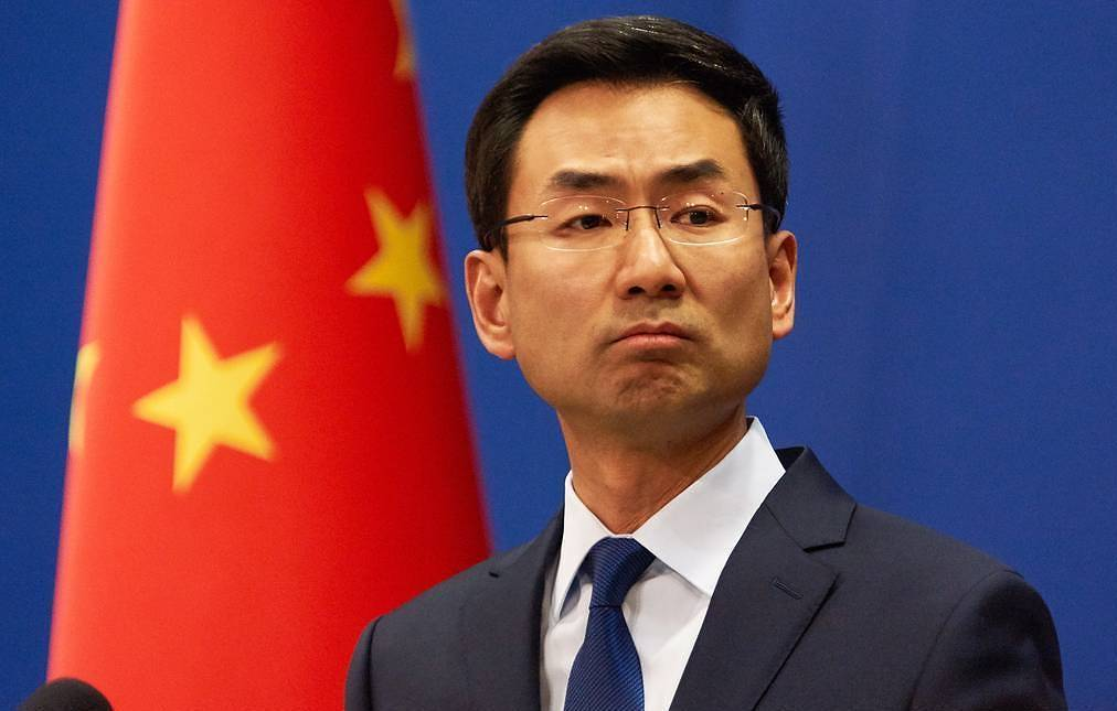 Chinese Foreign Ministry's official spokesman Geng Shuang  Artem Ivanov/TASS