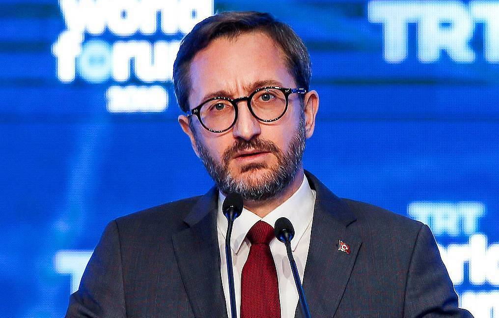 Turkish Presidential Spokesman Fahrettin Altun Erhan Elaldi/Anadolu Agency via Getty Images
