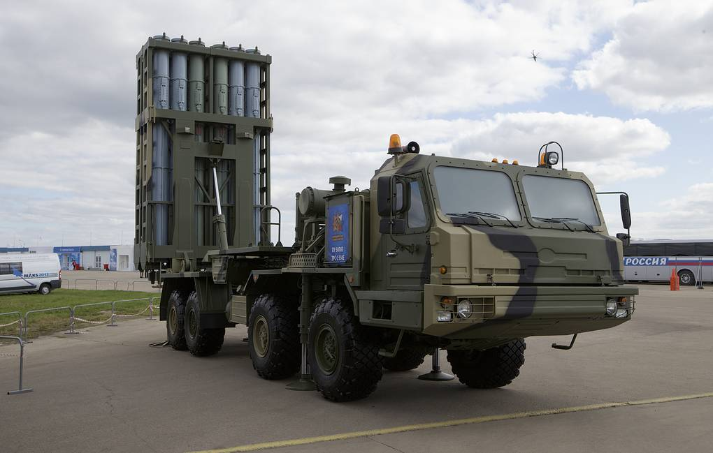 S-350 'Vityaz' surface-to-air missile system AP Photo/Ivan Sekretarev