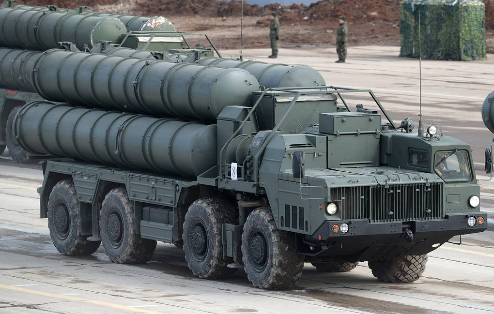 S-400 'Triumf' missile systems Sergei Bobylev/TASS