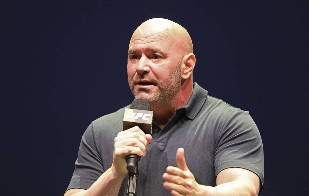 President of the Ultimate Fighting Championship Dana White  AP Photo/Gregory Payan