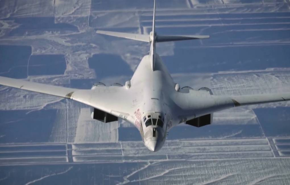 Tu-160 Defense Ministry's Press Service/TASS