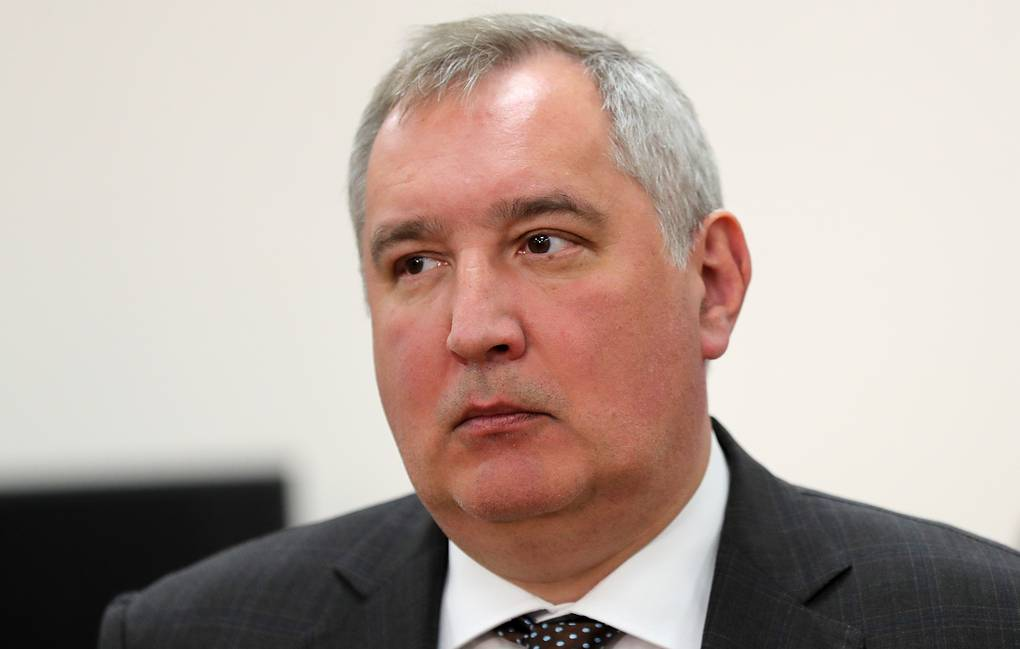 Russian Space Agency head Dmitry Rogozin Sergei Savostyanov/TASS