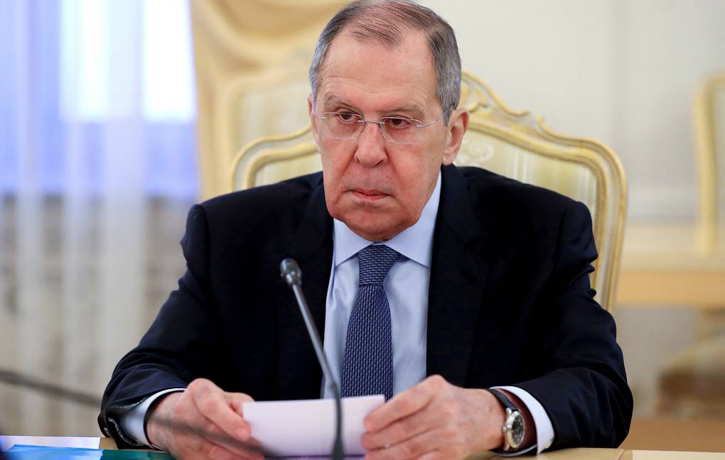 Russian Foreign Minister Sergey Lavrov Russian Foreign Ministry Press Office/TASS