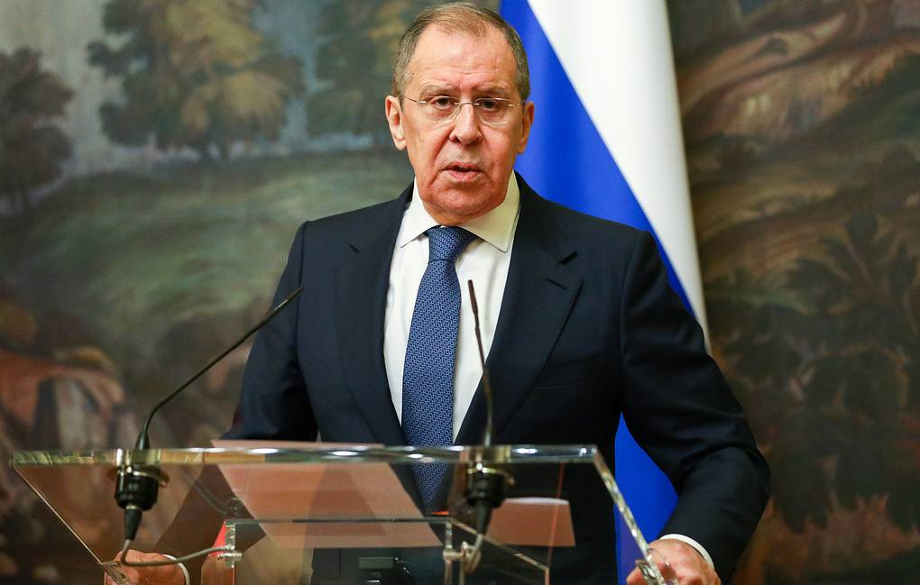 Russian Foreign Minister Sergey Lavrov Press service of the Russian Foreign Affairs Ministry/TASS