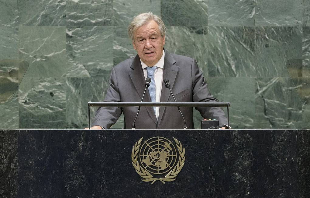 UN Secretary General calls to avoid 'a new Cold War' between US and China -  World - TASS
