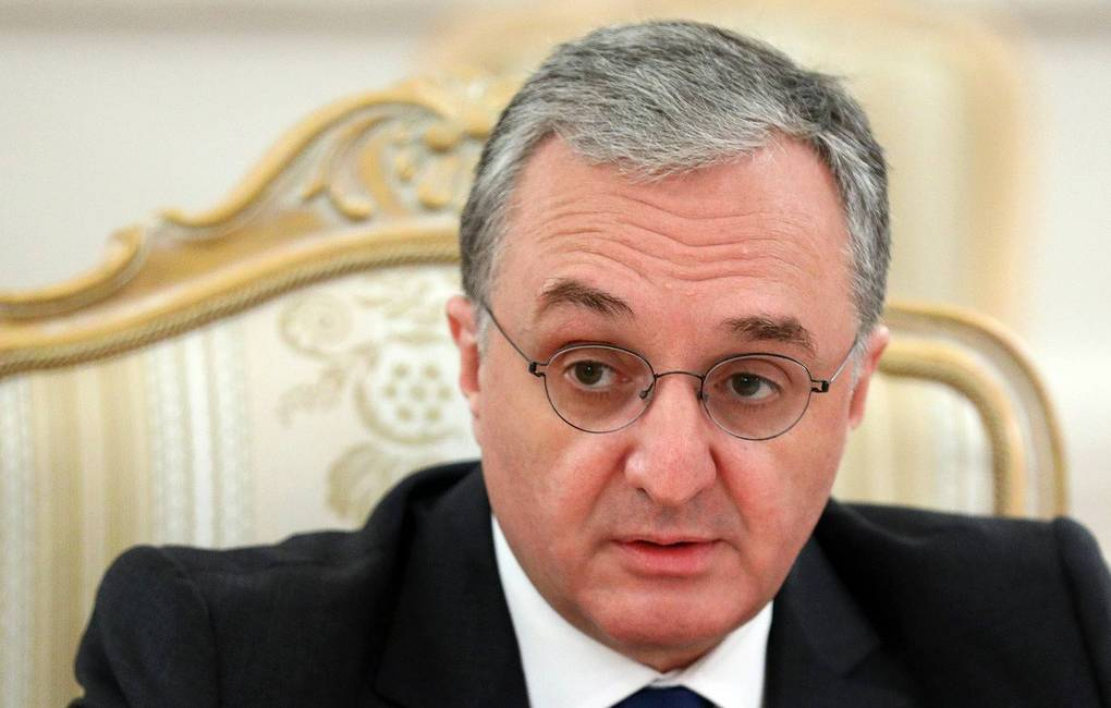 Armenian Foreign Minister Zohrab Mnatsakanyan Press service of the Foreign Ministry of Russian Federation/TASS
