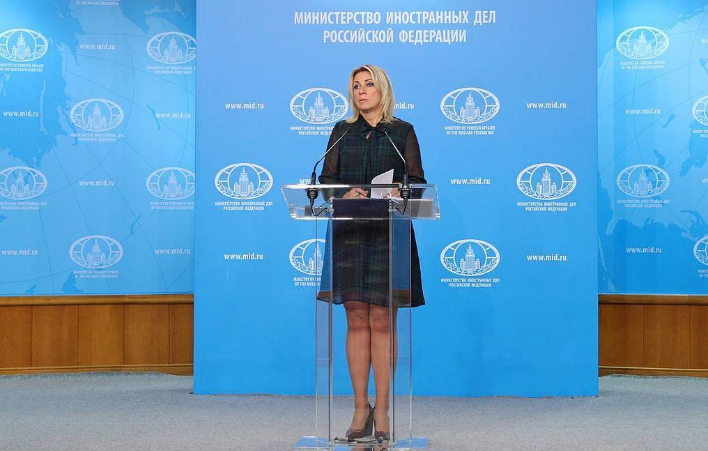 Russian Foreign Ministry Spokeswoman Maria Zakharova Press service of the Russian Foreign Ministry/TASS