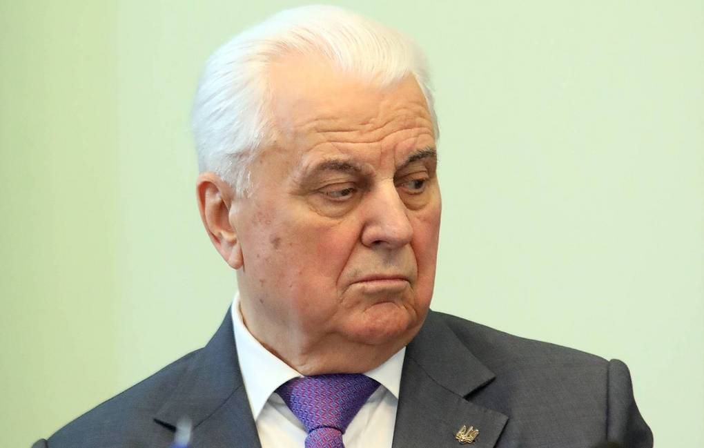 The head of the Ukrainian delegation in the Contact Group Leonid Kravchuk Petr Sivkov/TASS