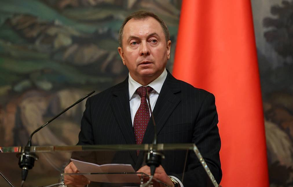 Belarusian Foreign Minister Vladimir Makey Press service of the Russian Foreign Ministry/TASS