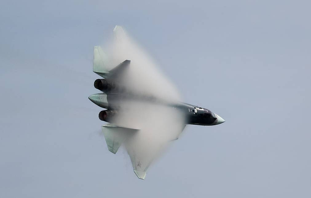 A multirole fifth-generation fighter jet Su-57 Sergei Savostyanov/TASS