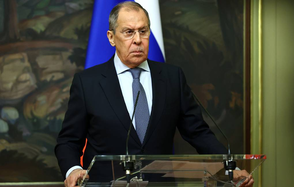Russian Foreign Minister Sergey Lavrov Russian Ministry of Foreign Affairs Press Office/TASS