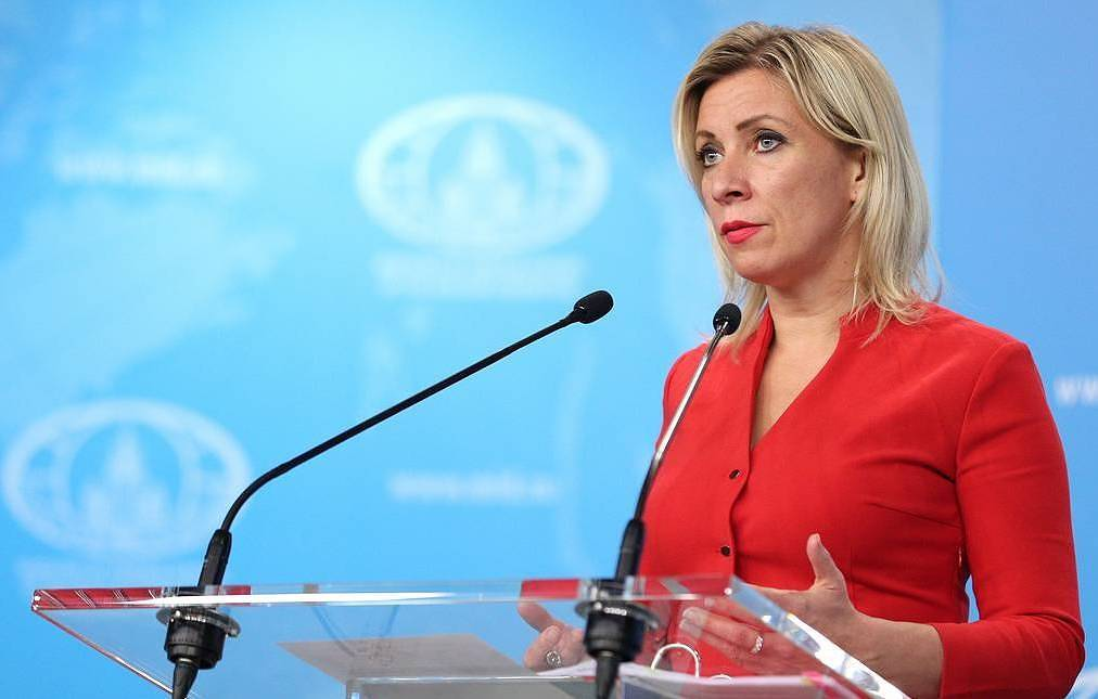 Russian Foreign Ministry Spokeswoman Maria Zakharova The press service of the Russian Foreign Ministry/TASS