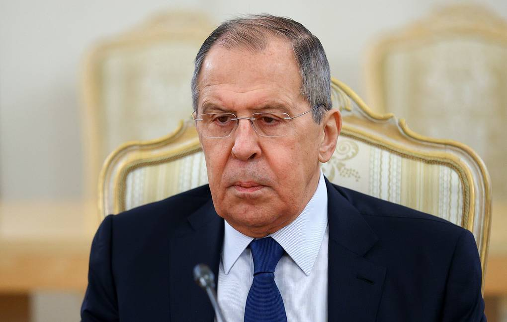 Russian Foreign Minister Sergey Lavrov Russian Foreign Ministry's Press Office/TASS